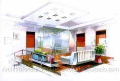 interior furnishings | Interior Visualization