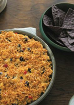 Smokey Black Bean Dip -- Serve with tortilla chips or pita chips, and this easy to make appetizer recipe is ready to enjoy!