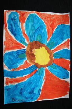 Georgia O'Keeffe Flower by Bryson
