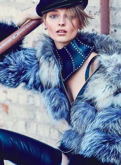 Daga Ziober for Fashion Canada by Max Abadian