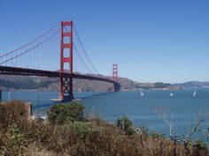 I took this photo of the Golden Gate bridge when we were out there on vacation.  It was a really warm day, I think it was 80 out.