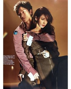 """With """"The starting tomorrow on tvN, Vogue released a photoshoot which pairs up the OTP of the drama, Ji Chang Wook & Yoona. We think they both look stunning and can't to s… Korean Actresses, Asian Actors, Korean Actors, Actors & Actresses, Vogue Korea, Yoona Ji Chang Wook, Ji Chang Wook Healer, The K2 Korean Drama, Korean Celebrities"""