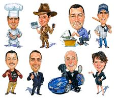 Personal Caricatures