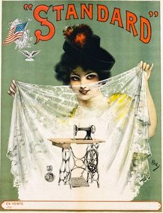 #vintage #sewing #graphic / ad