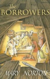 Mary Norton, British author of The Borrowers, was born in 1903. Eventually a series, after winning the Carnegie medal in Britain, the book came to America. It's the story of a miniature family with a rather precarious existence!