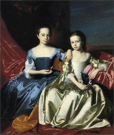 Mary and Elizabeth Royall, 1758  John Singleton Copley