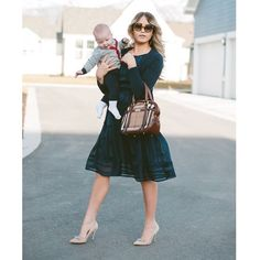 So excited to share that I am the Guest Guru for the DRESSBAR by @dressbarn today! Check out my blog to see all the looks #DRESSBAR  P.S. This kid makes it near impossible to hold him these days!!