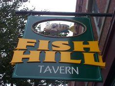 Fresh Fish! Pub Signs, Fish