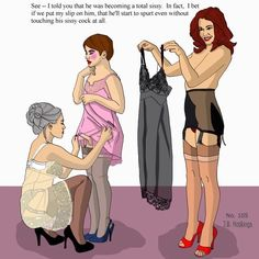 Site Devoted to TransVestism, specifically with a Loving Female Dominatrix (Mistress/Wife). A SAFE...
