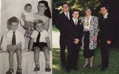 Roland Orzabal with his brothers and mom, Then & Now