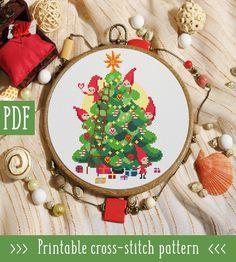 X Jody Rice Bauble Beauty Bright Cards Christmas Cross Stitch Chart