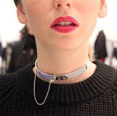 Colette et Eddie Borgo Day Collar, Neck Collar, Collar And Cuff, Collars Submissive, Slave Collar, Piercing, Daddys Girl, Womens Fashion, Fashion Trends