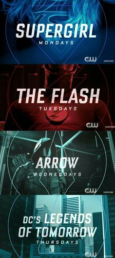 My week days are like... Hope CW will give something awesome on fridays too...
