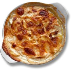 Картофель Дофинуа (Gratin Dauphinois) Франция ❤ liked on Polyvore featuring food