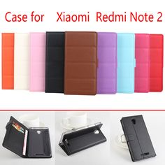 >> Click to Buy << PU Leather bags case For Xiaomi Redmi Note 2 Case Flip phone bags cover  For Xiaomi Redmi Note 2 Lichee Pattern stand skin #Affiliate