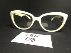 New FENDI Eyeglass Frame in White FF0020 Propionate (FEN-08) #Fendi