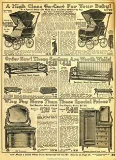 Household Furniture 1914 Sears Household Catalog Dining