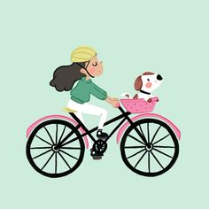 Simple animation using procreate & photoshop Bicycle Illustration, Fox Illustration, Animiertes Gif, Animated Gif, Bike Drawing, Photoshop Video, Funny Songs, Animation Tutorial, Cartoon Gifs