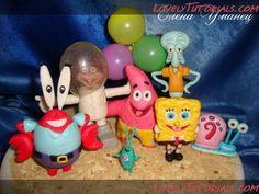 SpongeBob characters step by step