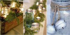 Seguro que tienes tarros de cristal por casa, pues te contamos cómo decorar con ellos.
