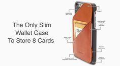 iPhone 6 Wallet Case / Tan. Huskk