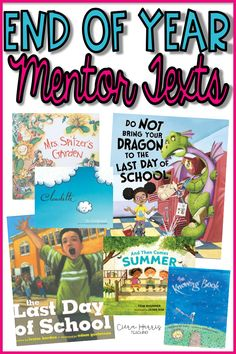 This spring, read some of the best mentor texts around! I've gathered up some amazing end of year books for you to share with your students in April, May, and June! Best of all, I even paired each book with a reading comprehension skill or strategy! AND you can download your FREE reading graphic organizer too! These books are perfect for elementary students! Come read and find a new end of year mentor text to share today!