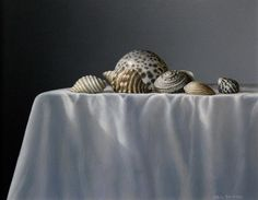 Neil Driver  (b.1951) — Shells on Table  (800x622)