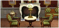 Conjunto de Sala de Estar Vida de Realeza - Store - The Sims™ 3