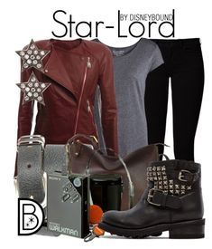 """Star-Lord"" by leslieakay ❤ liked on Polyvore featuring Vero Moda, Pieces, rag & bone, The Bridge, Ash and Dana Rebecca Designs"