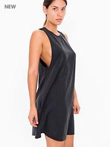 Faux Silk Olivia Dress