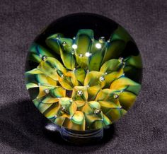 1.70 inch Fumed Dotbox with Airtraps by BlueGooseStudios on Etsy, $85.00