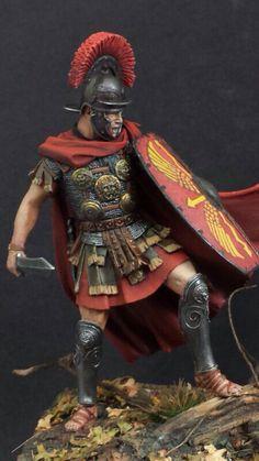 Roman Centurion, Battle of Teutoburg forest.