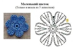 Crochetpedia: 2D Crochet Flowers Free Patterns