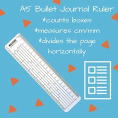 Have you ever erased so hard you made a hole in your paper? Those days are over. The A5 ruler is a must have for bullet journaling. It doesn't have to be hard. Bullet Journal Ruler, Bullet Journal Health, February Bullet Journal, Bullet Journal Tracker, Bullet Journal Spread, Bullet Journal Layout, Bullet Journal Inspiration, Journal Ideas, Time Management Techniques