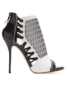 CASADEI cage bootie from Farfetch