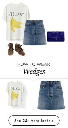 """""""Mix"""" by victoriaandersen on Polyvore featuring Murphy, Marc by Marc Jacobs, Chanel and Isabel Marant"""