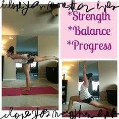 The advancement in PiYo is becoming evident! In just 5 days I am holding poses I could not keep my balance in before!! Join me on my PiYo journey!
