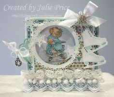 What a dream of a snoesjes card by Julie