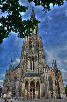 Ulm Cathedral (the highest church tower in the world) by Dhani Barreñor on 500px