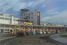 Christchurch Airport, New Zealand New Zealand Houses, Air New Zealand, Christchurch New Zealand, Kiwiana, Canterbury, Homeland, Palm Springs, Childhood Memories, Nostalgia
