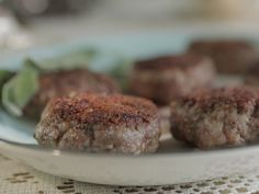 Homemade Breakfast Sausage recipe from Damaris Phillips via Food Network