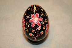 Flower and Sun Sokal Ukrainian Egg by StiglianoDesigns on Etsy