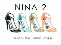 NINA-2 by Athena Footwear <available in 4 colors>  Call (909)718-8295 for wholesale inquiries - thank you!