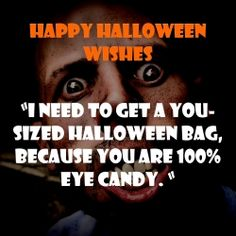 Halloween QUOTATION – Image : Quotes about Halloween – Description Flirty Halloween Text Message Sharing is Caring – Hey can you Share this Quote ! Halloween Quotes Movie, Halloween Poems, Fröhliches Halloween, Halloween Wishes, Halloween Treats, Office Halloween Costumes, Flirty Quotes, Inspirational Words Of Wisdom, Romantic Quotes
