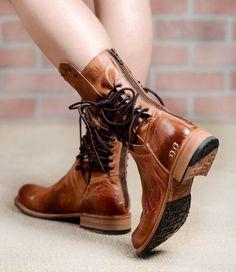 8aeb4c883d03  295 NIB Free People Bed Stu Fen Cognac Lace Up Leather Boots 7.5  BedStu