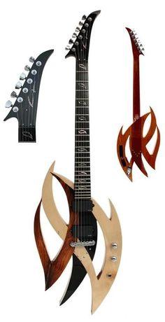 Tribal Guitar --- www.pinterest.com...