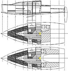 Didi 23 radius chine plywood boat plans