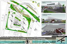 Propuesta para la Terminal de Buses de Cojutepeque