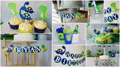 DinoROAR party package by Pinwheel Lane on etsy - Dinosaur Decorations
