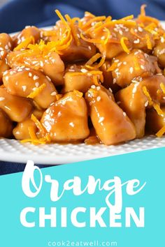 This homemade orange chicken is a great way switch up your dinner routine. In this quick and easy recipe, cubed chicken breast is cooked with a sweet and savory orange sauce. The sauce is made with orange marmalade and orange juice, giving you a burst of orange flavor! Cooking For Beginners, Easy Family Dinners, Orange Chicken, Marmalade, Orange Juice, Grilling Recipes, Quick Easy Meals, Routine, Breast